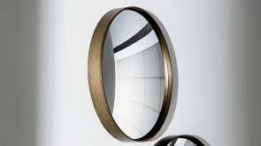 Miroir Sovet Sail Mirror Burnished