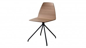 Chaise Sovet Silla Trestle Wood 1