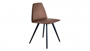 Chaise Sovet Silla Chair Four Legs Shaped Brown 1