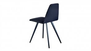 Chaise Sovet Silla Chair Four Legs Shaped Black 1