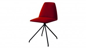 Chaise Sovet Silla Trestle Red 1