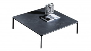 Table Basse Sovet Slim Coffee Table Black h.37 1