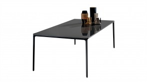 Table Sovet Slim Rectangular Black 1
