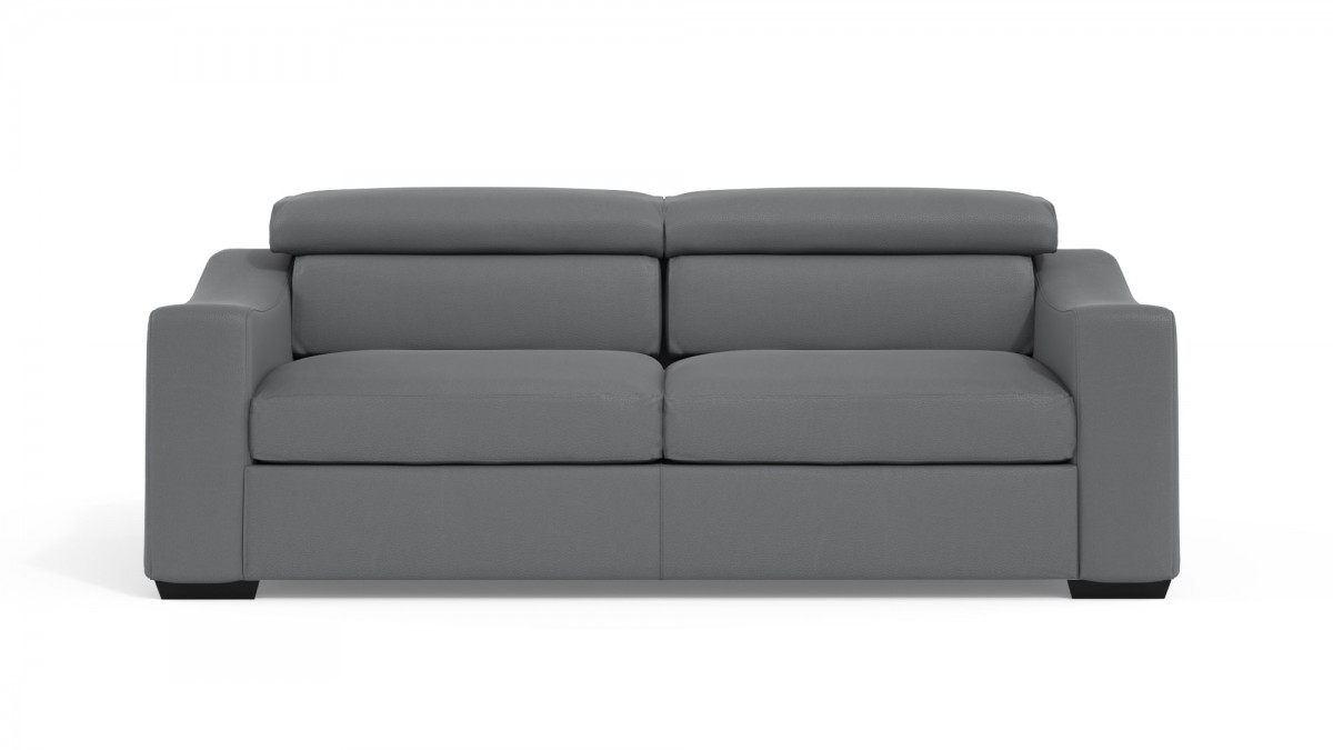 Sofa Bed CDI Collection Living Sofa Bed Leather Grey