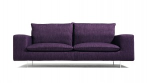 canapé cdi collection carnaby violet sofa