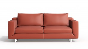 Canapé CDI Collection Alison Sofa Leather Red