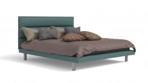 Bed CDI Collection King Bed Green
