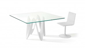 Table Sovet Lambda Square White