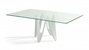 Table Sovet Lambda Rectangular White