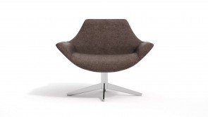 fauteuil cdi collection line down armchair brown