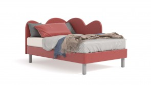 Bed CDI Collection Nuvola Bed Red