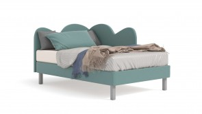 Bed CDI Collection Nuvola Bed Green