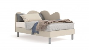 Bed CDI Collection Nuvola Bed Sand