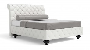 lit cdi collection silver bed white 2