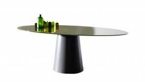 Table Sovet Totem Elliptical Green