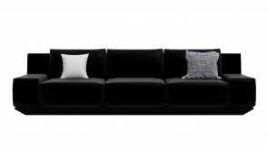 Canapé CDI Collection Wing Sofa Leather Black 1