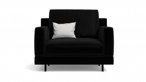 Armchair CDI Collection Elle Armchair Leather Black