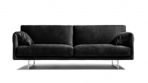 Canapè CDI Collection Lennon Sofa Leather Black