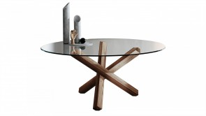 Aikido Round Table Walnut