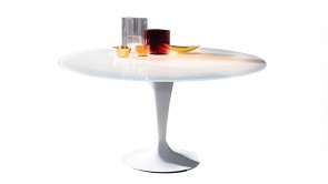Table Sovet Flute Round White