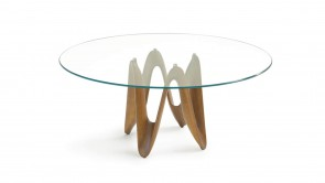 Table Sovet Lambda Round Walnut