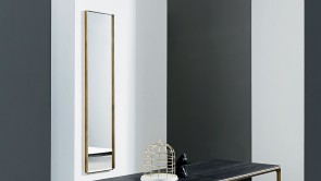 Mirror Sovet Visual Rectangular Burnished