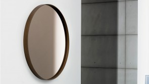 Mirror Sovet Visual Round Bronze