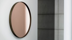 Mirror Sovet Visual Round Rose