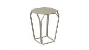 table basse cdi collection tray metal table